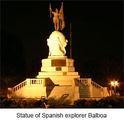 Balboa's statue on Avenida Balboa of course